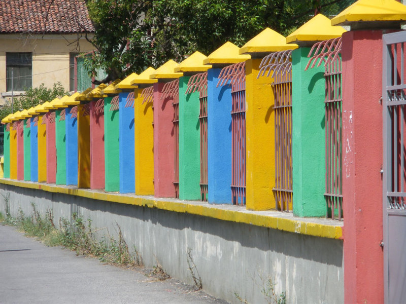 More colours in Tirana