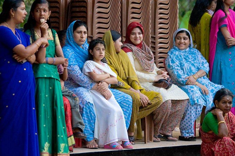 Women at Hindu Festival