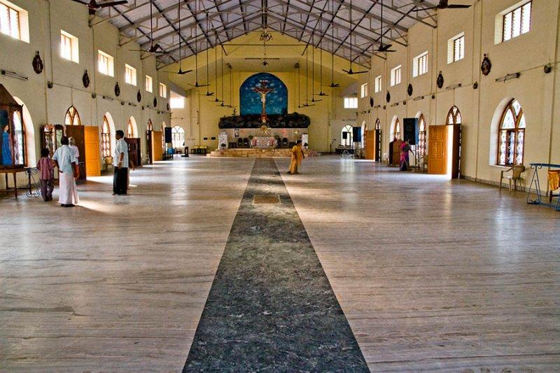 Cathedral Interior, Kollam