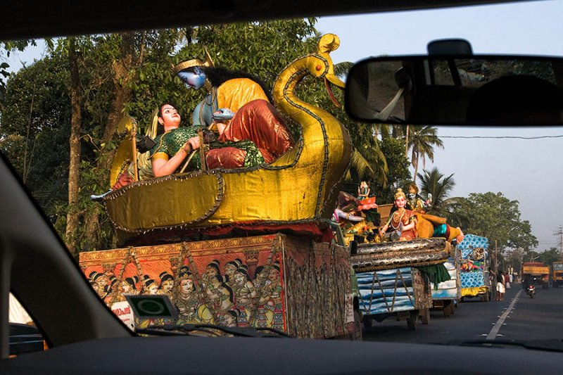 Hindu Festival Parade