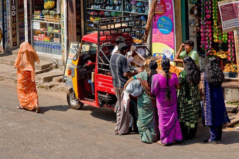 Orange Vendor, Kochi