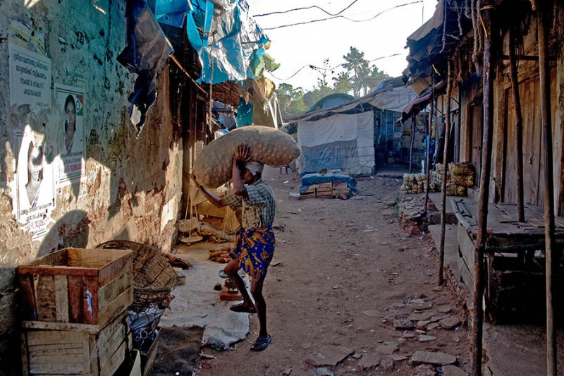 Alley Scene #1, Kochi