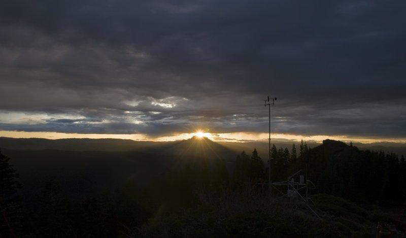 Saddlebacks Stonehenge (aka Sierra Buttes) 19 Oct 2009