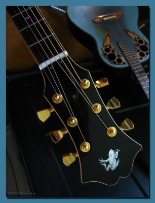 Cloutier Guitar #27 headstock