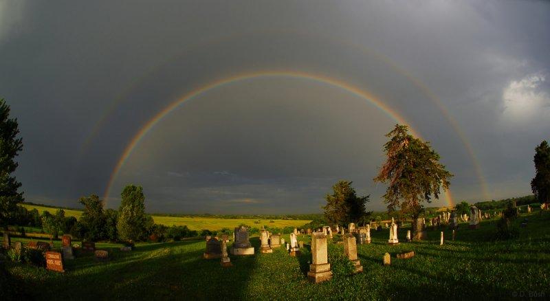 Rainbow at Mt. Zion Church