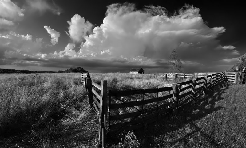 Corral with Storm