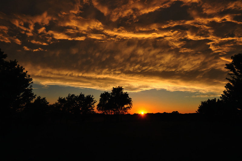 Sunset Impression (Composition 2)