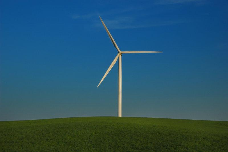Windmill on the Prairie