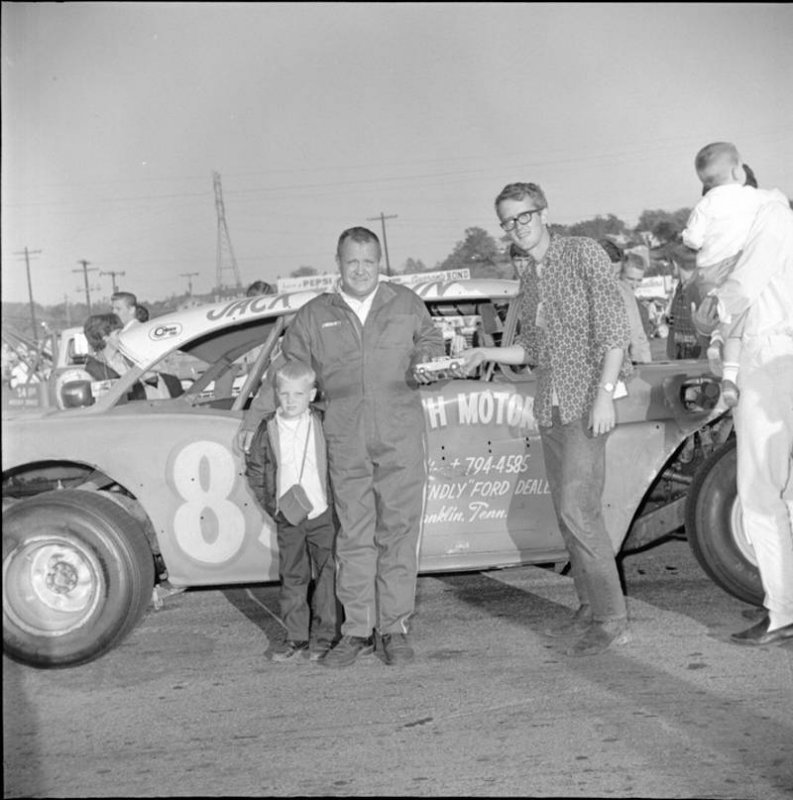 Sterling Marlin and Uncle Jack Marlin