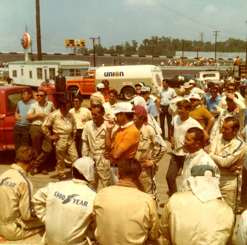 1970 420 drivers meeting.