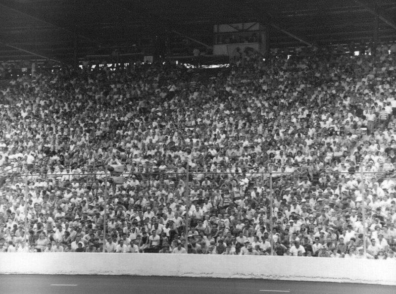 1970 Nashville 420 Grandstands