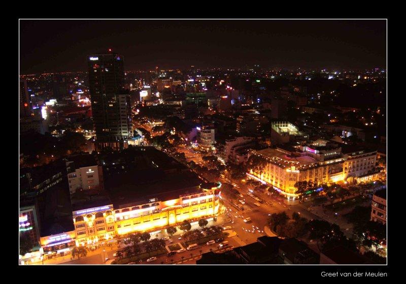 0056 Saigon by night