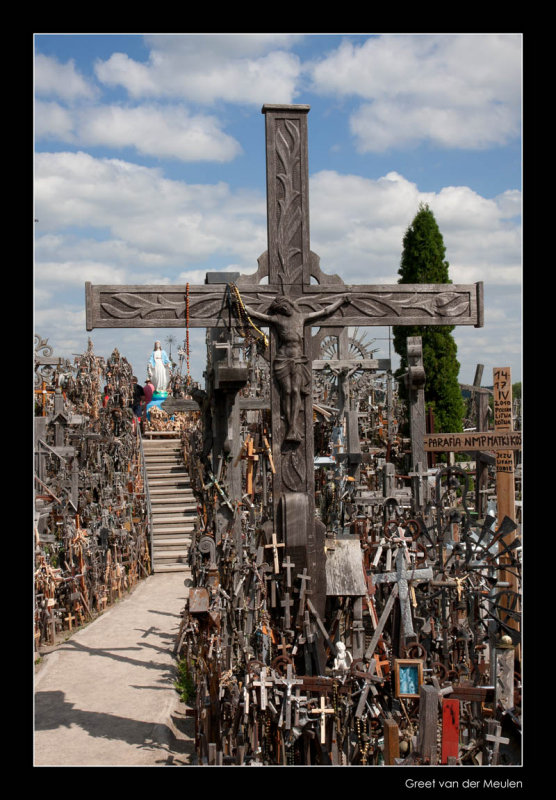 1361 Lithuania, Hill of Crosses