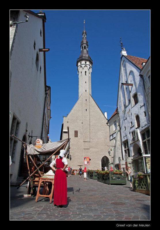 1752 medieval Talinn
