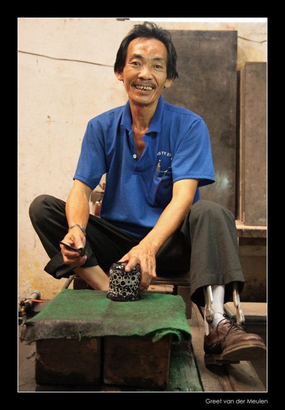 7245 Vietnam, at work