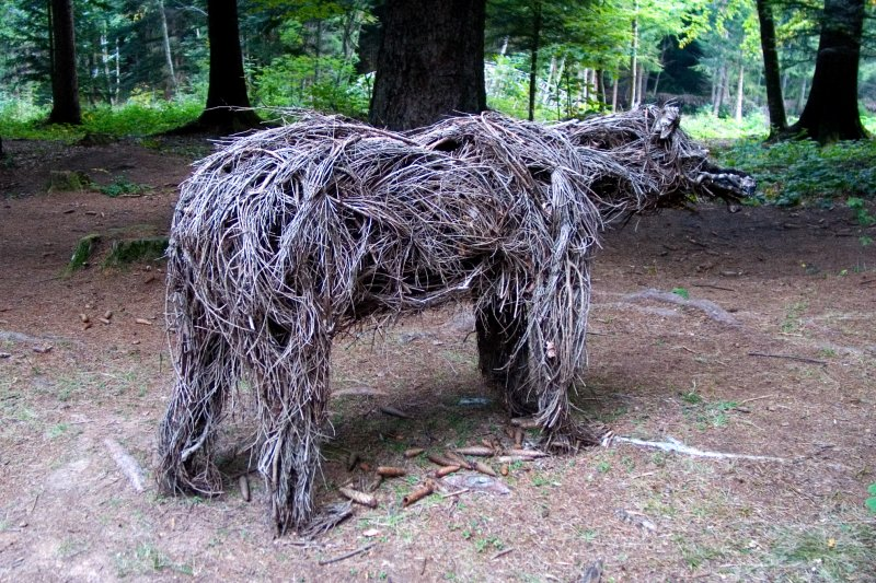 Bear (one of three) by Heather Jansch (2006)