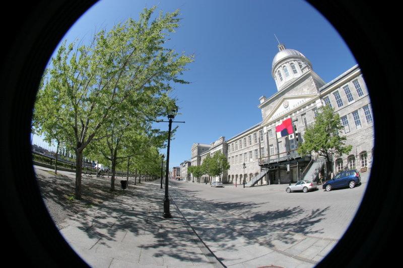 Old Montreal (Fisheye)