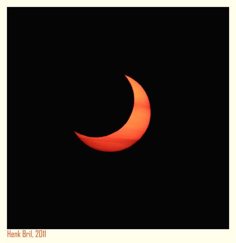 Partial Solar Eclipse 2011 - 1