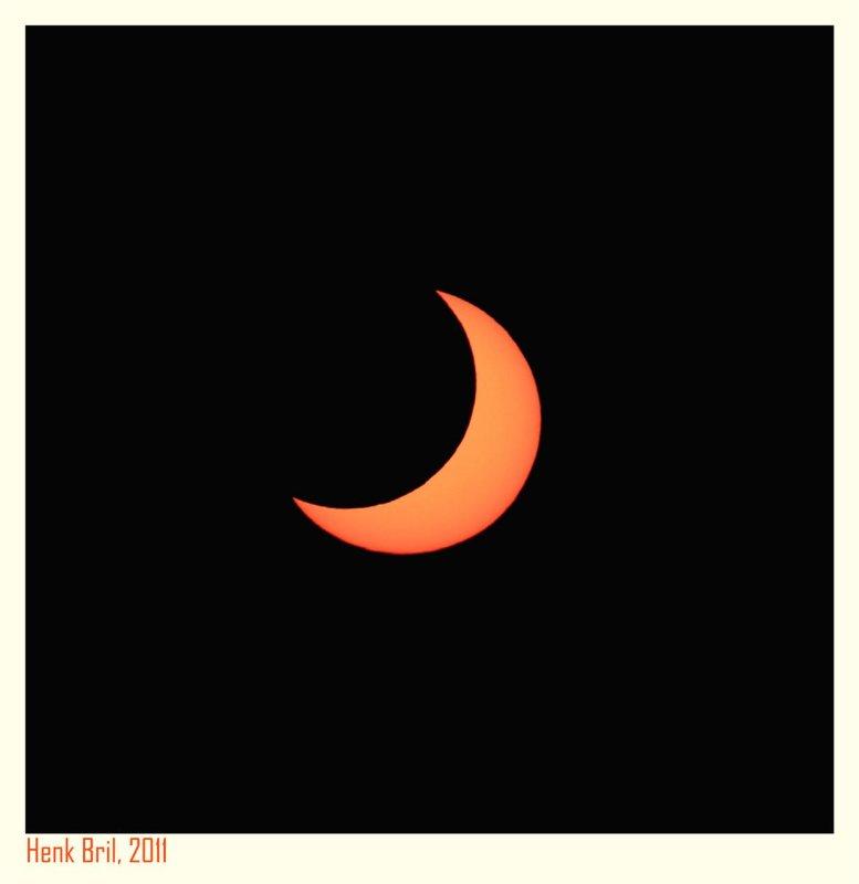 Partial Solar Eclipse 2011 - 2