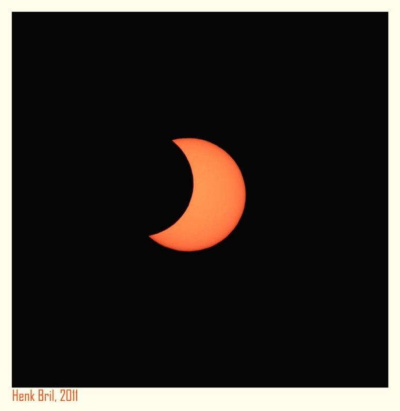Partial Solar Eclipse 2011 - 3