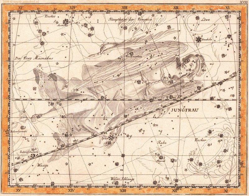 Tafel XVIII - Die Jungfrau
