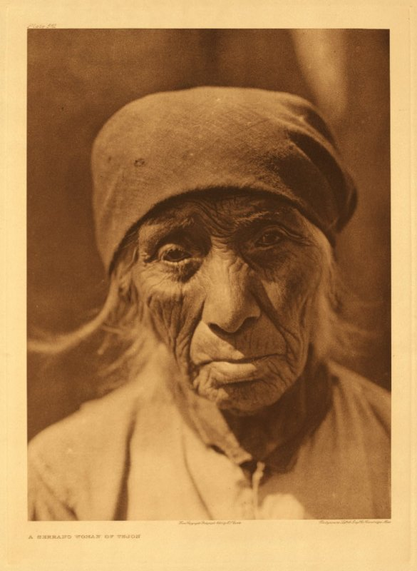 Serrano woman of Tejon
