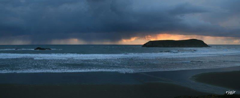 Stormy Meyers Creek Beach