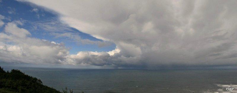Rain Squall, Cape Sebastian, OR