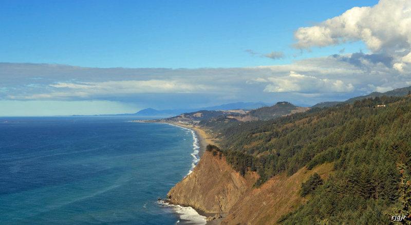Gold Beach, OR. coastline from Cape Sebastian