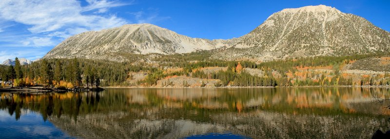 Rock Creek Lake and Fall Colors