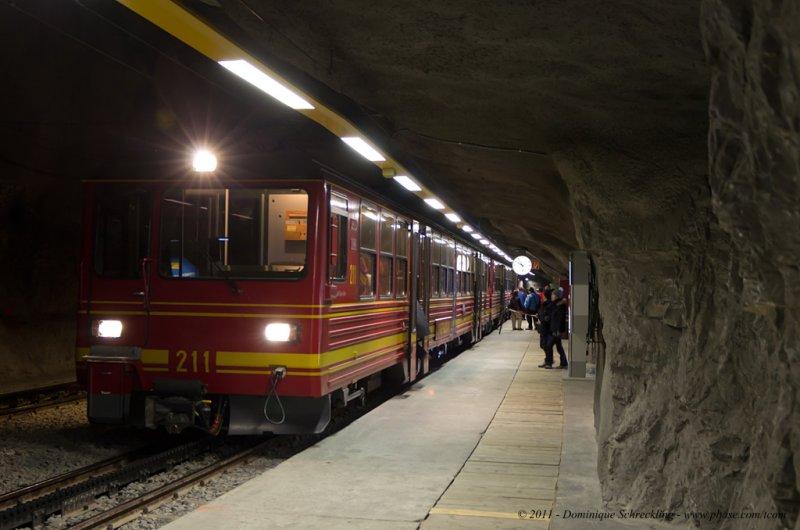 Trainstation Eismeer
