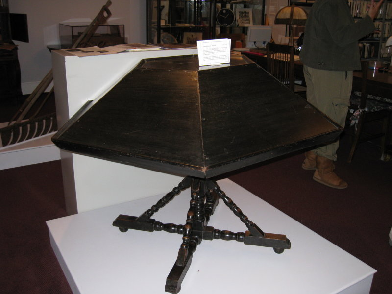 Rev. Jonathan Edwards Lectern - Stockbridge, VT - Library