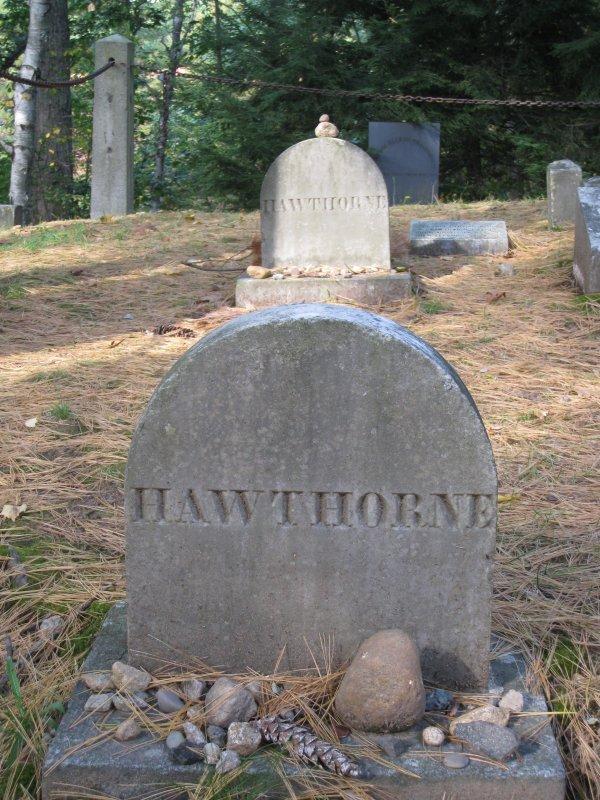 Nathanial Hawthorne - Sleepy Hollow Cemetery - Concord, Mass.