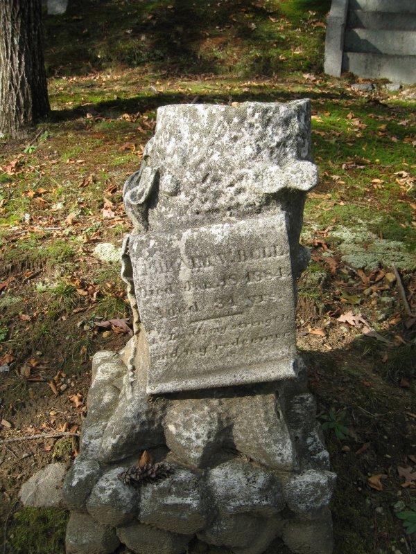 Ephraim Wales Bull - Sleepy Hollow Cemetery - Concord, Mass.