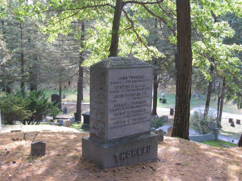 Thoreau Family - Sleepy Hollow Cemetery - Concord, Mass.
