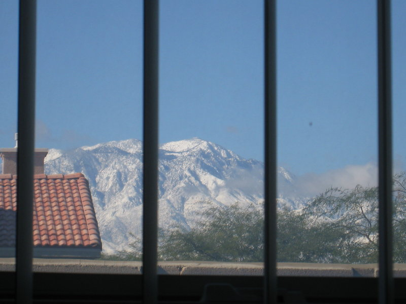 (View from my bathroom window)