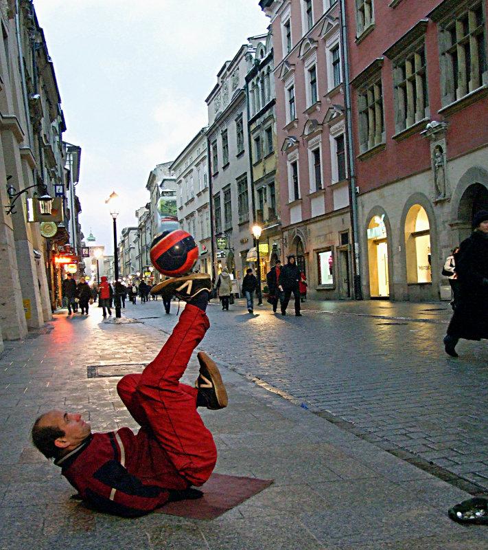 Krakow Football Entertainer