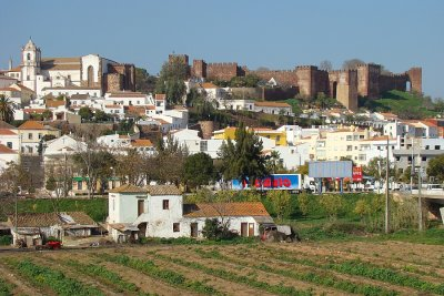 Silves - city view