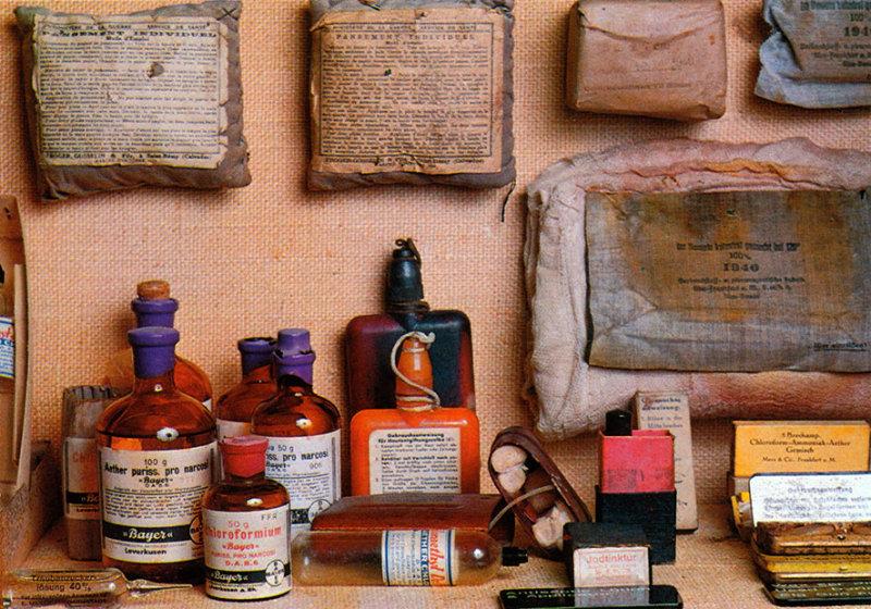 Jer_1983_024.jpg German Underground Military Hospital Pharmacy - St Lawrence - © A Santillo 1983