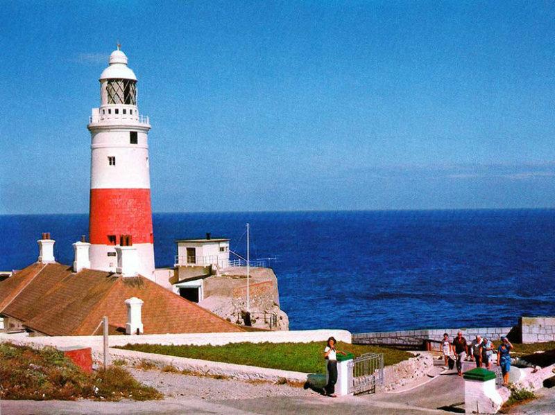 Gibraltar_029.jpg Europa Point Lighthouse - Gibraltar - © A Santillo 1979