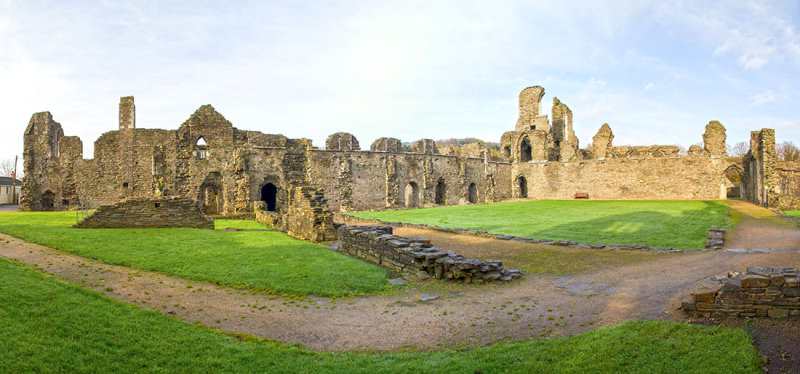 IMG_3667-3674.jpg Neath Abbey founded by Richard Granville 1130 - Neath, Swansea - © A Santillo 2011