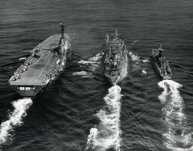 RFA-Tideflow.jpg RFA Tideflow refuelling three of Her Majesties Royal Navy ships - 1970 (photographer unknown)