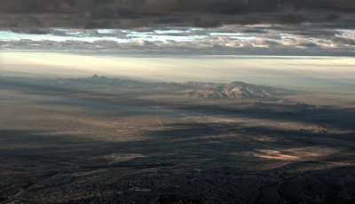 Climbing Out West of Tucson