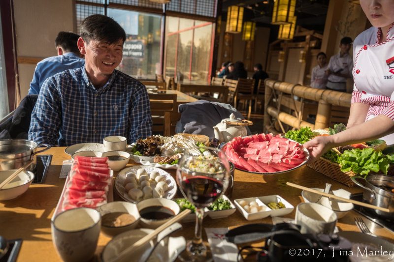 Mongolian Hot Pot with Muuggi