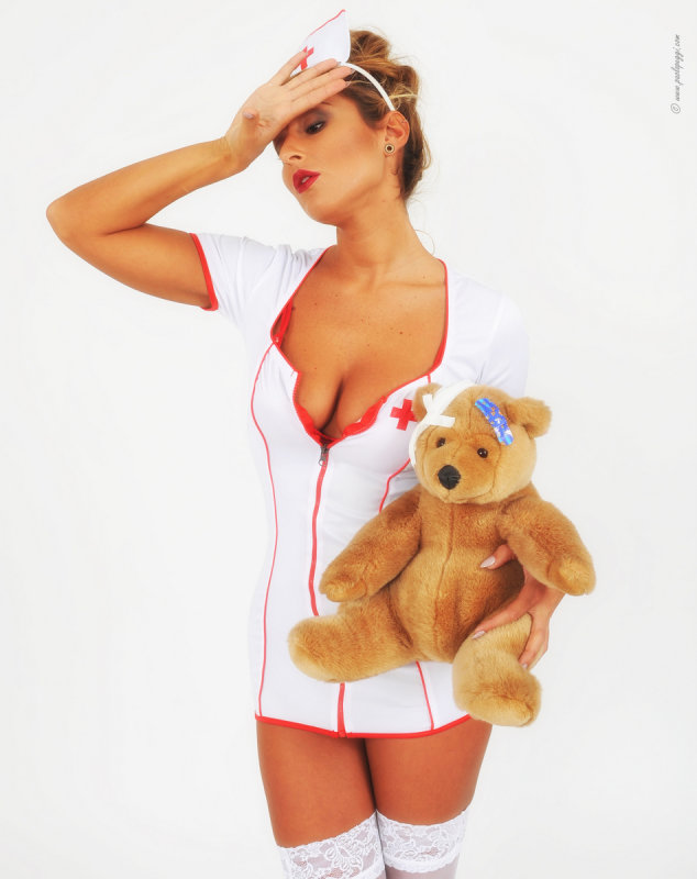 Poor Teddy..... I hope it isnt anything too serious!