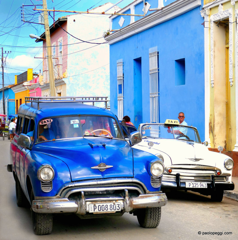 Taxi & Taxi, Trinidad, Cuba