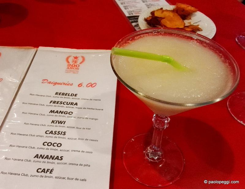 El Floridita. Worlds Best Bar,home of Hemingways Daiquiri in Havana, Cuba