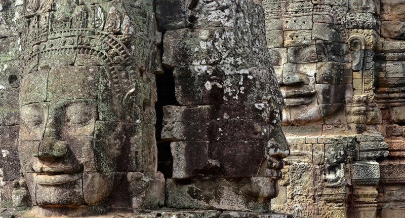 Faces at Bayon, Angkor Thom
