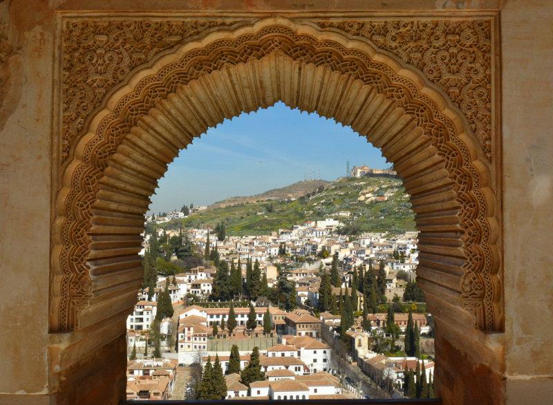 Albayzín seen from the Alhambra