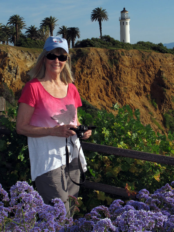 Among the Flowers at Pt Vicente